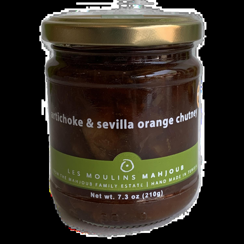 mahjoub Artichoke & sevilla orange chutney 7 oz