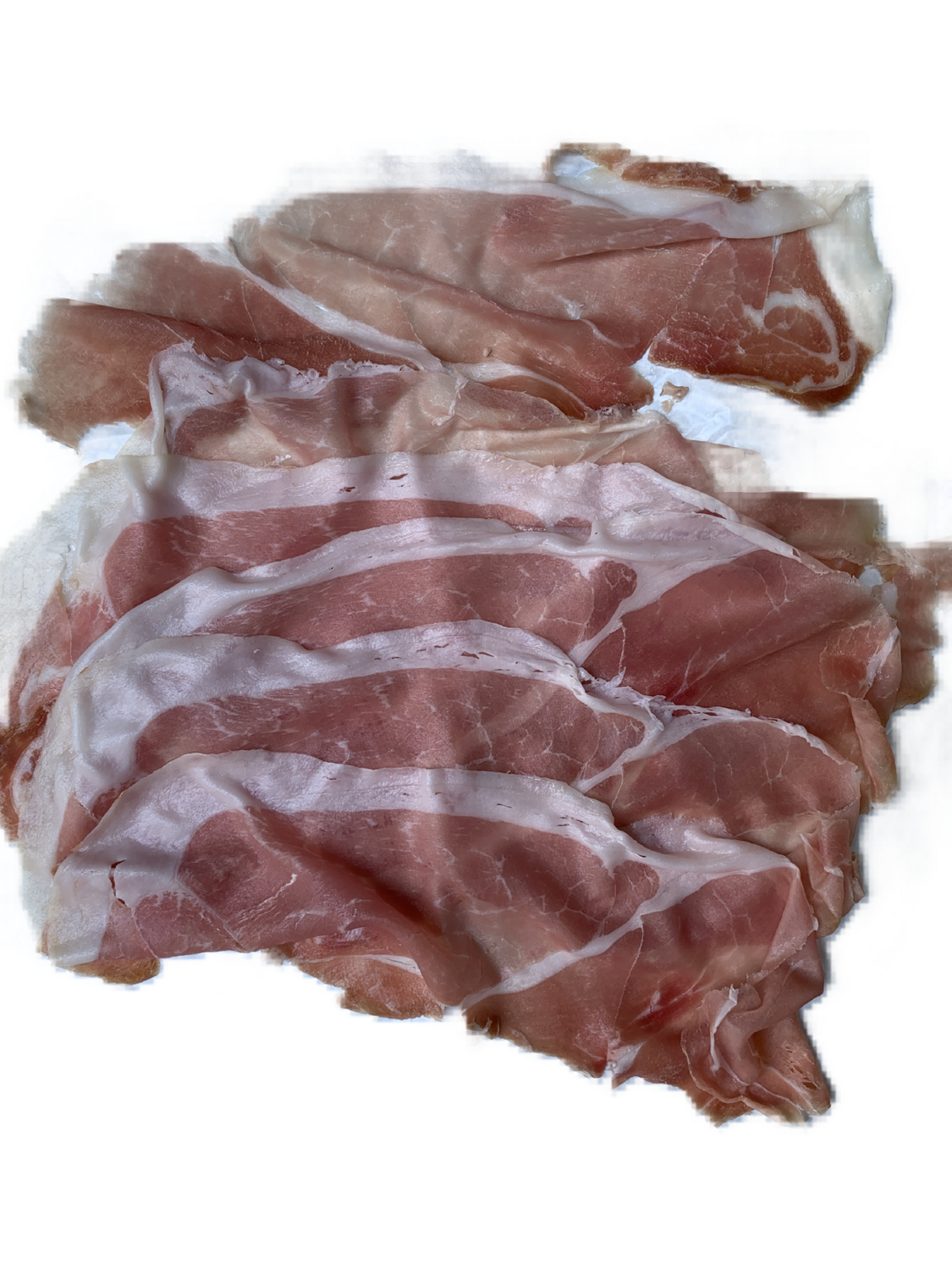 prosciutto san Danielle sliced thin 8 oz.