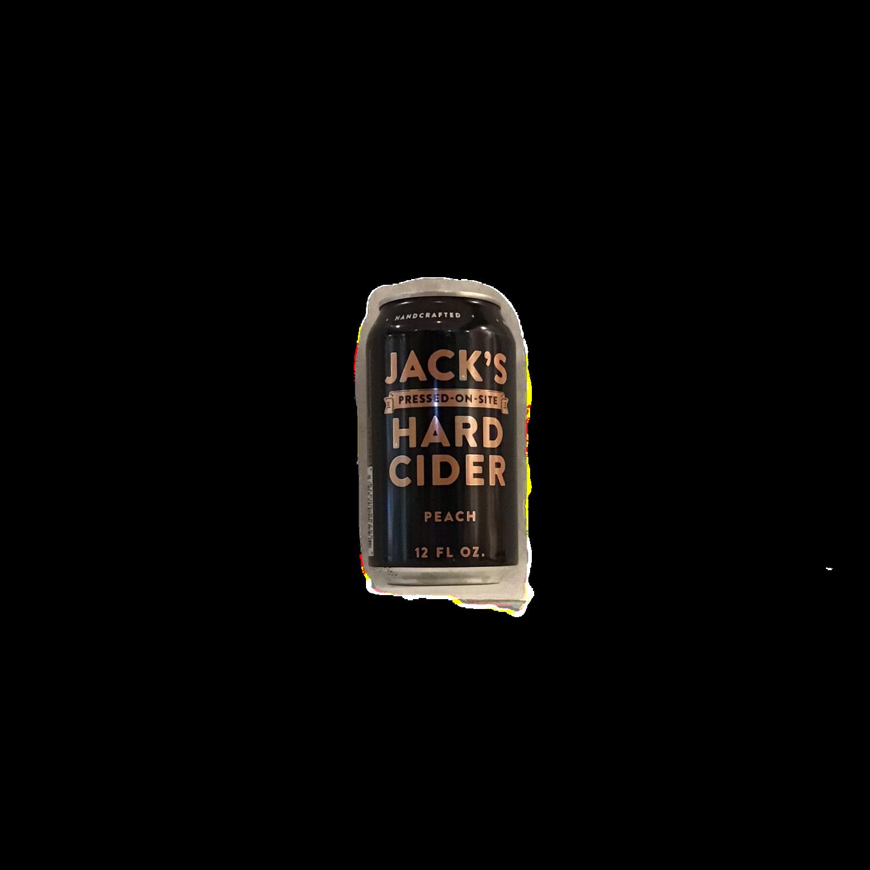 Jacks Hard Cider Peach