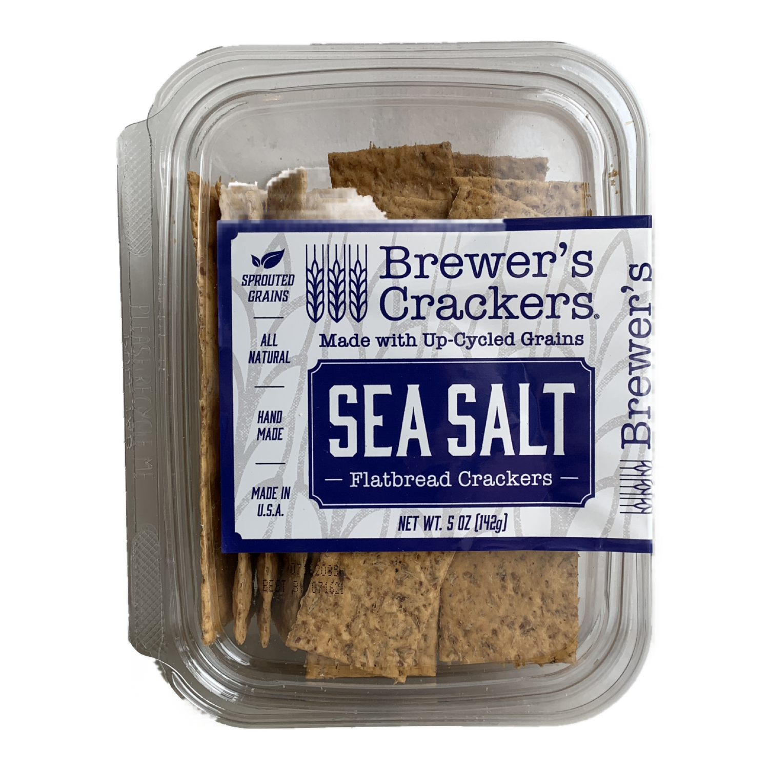 BREWERS CRACKERS sea salt