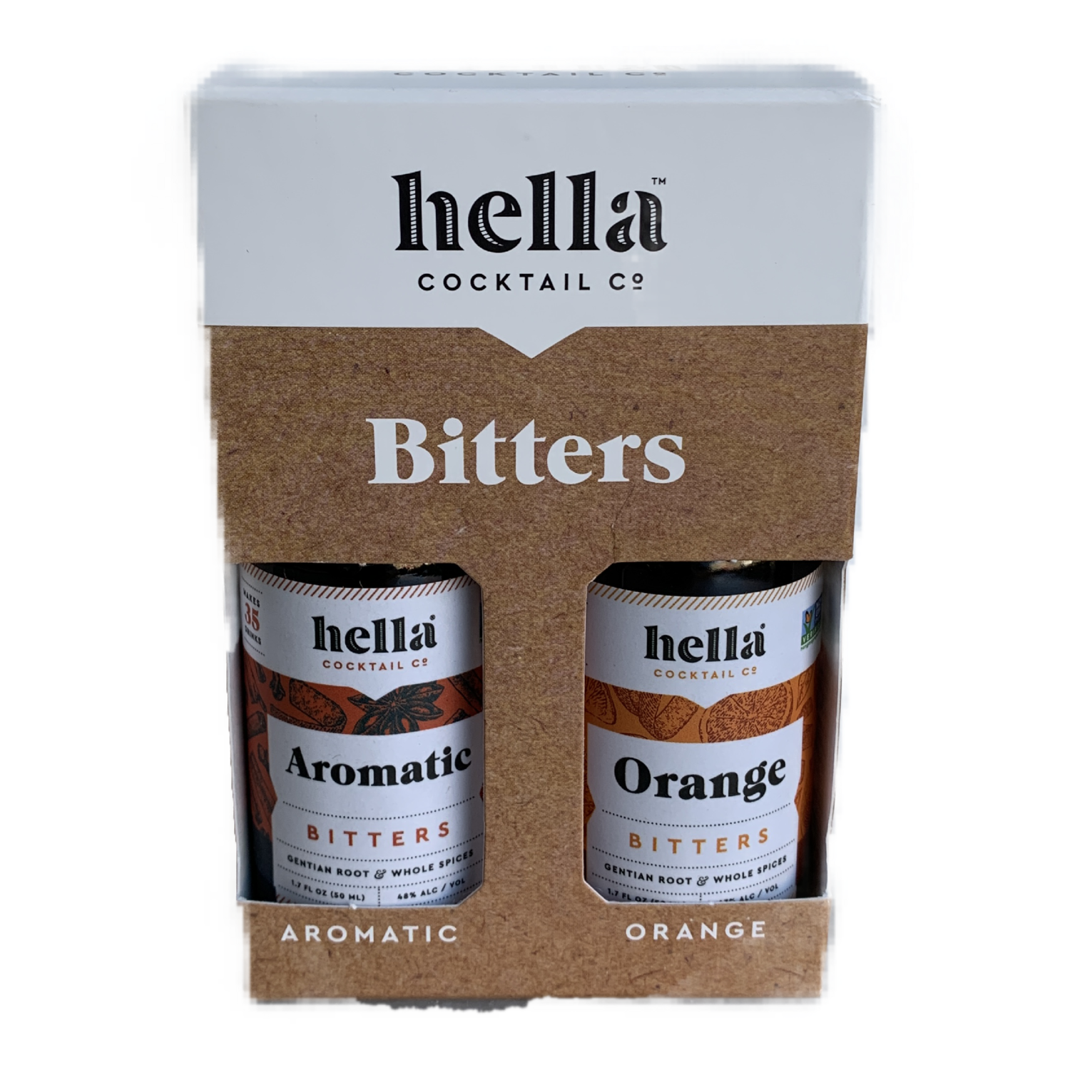 HELLA COCKTAIL BITTERS 2 PACK