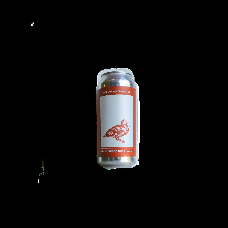 Mast Landing A Beer Named Duck