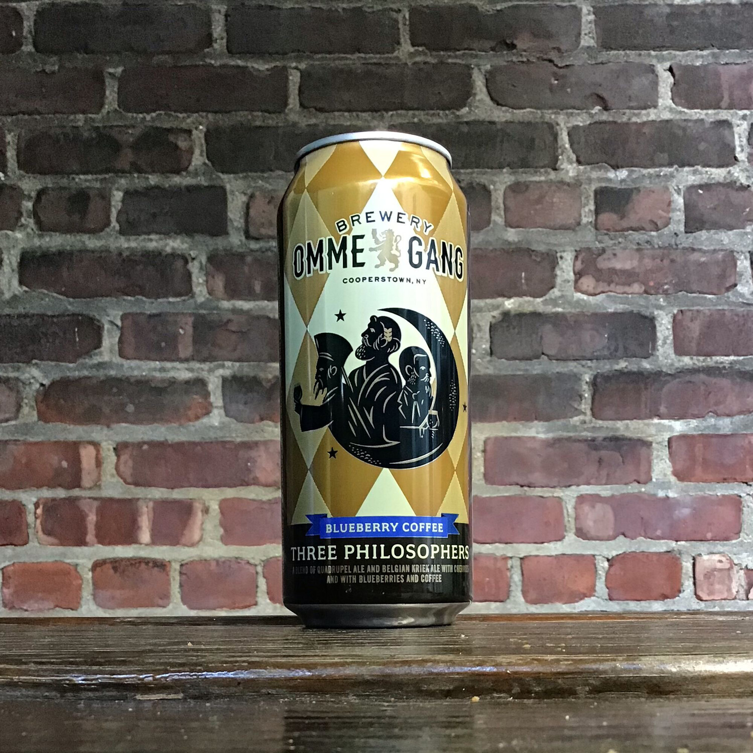 Ommegang BLUEBERRY COFFEE Three Philosophers