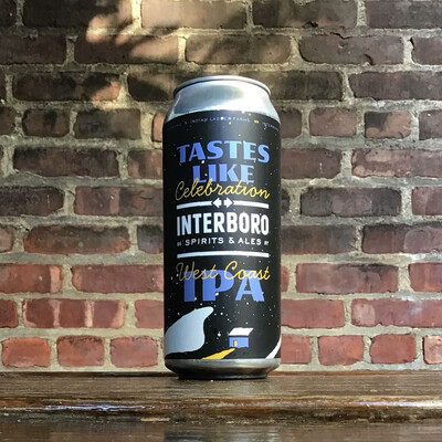 Interboro Tastes Like Celebration