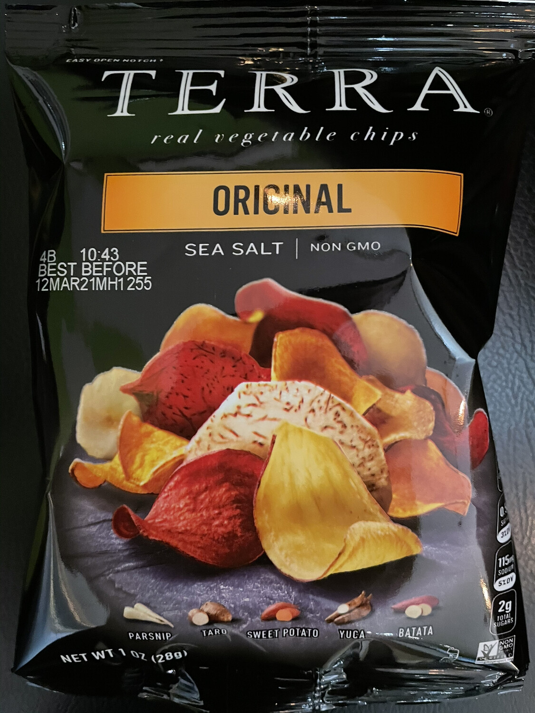 TERRA veggie chips + sea salt