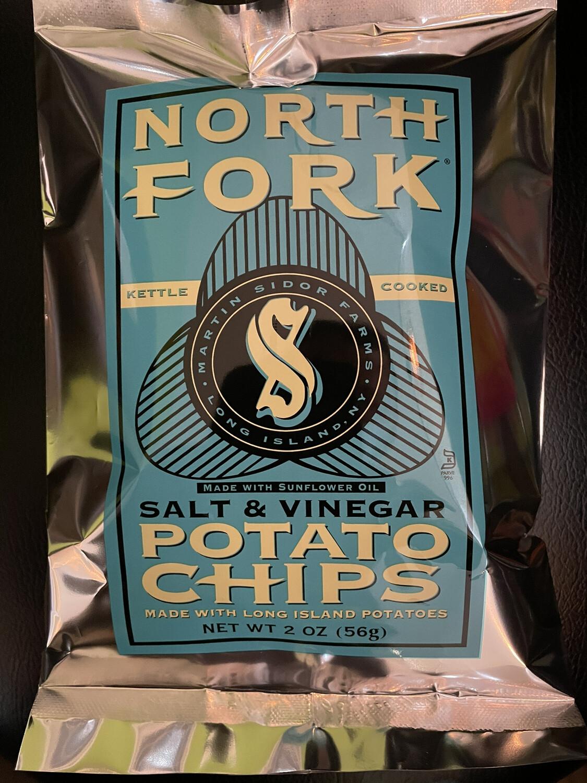 NORTH FORK salt & vinegar potato chips