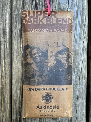 ASKINOSIE super dark blend Tanzania + Ecuador