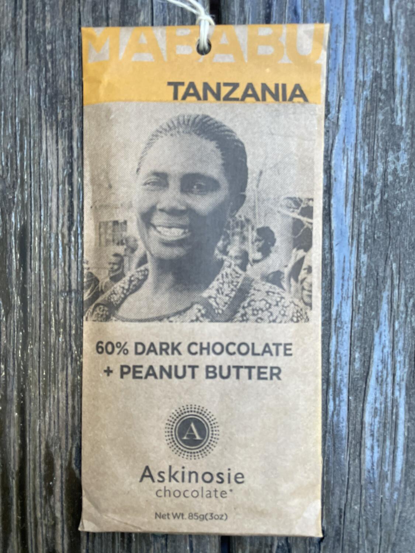 Askinosie Tanzania Peanut Butter