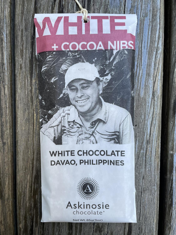 ASKINOSIE White + Cocoa Nibs