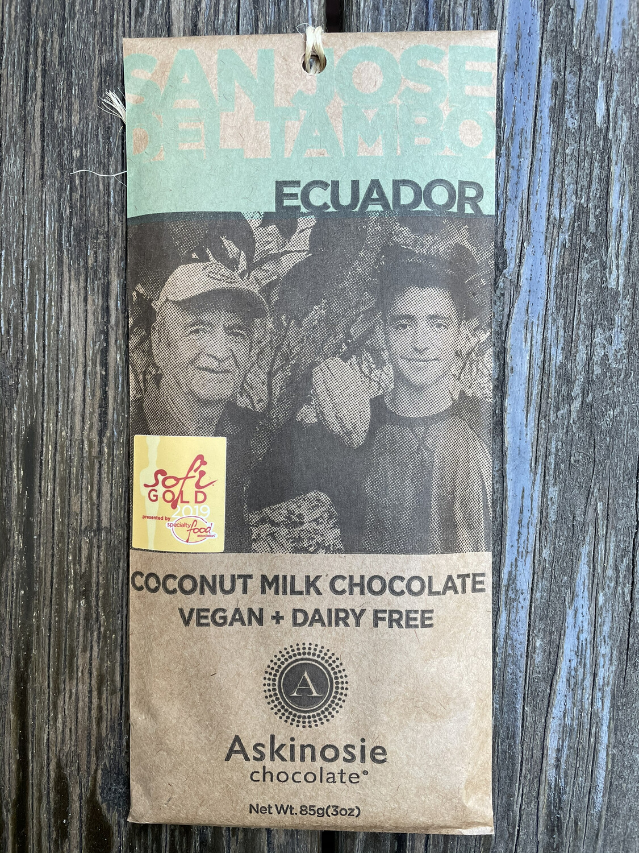 ASKINOSIE Coconut milk chocolate