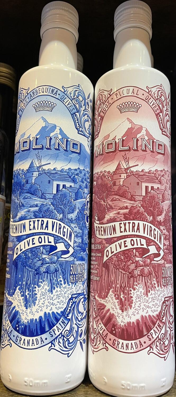 MOLINO arbequina olive oil (blue/white bottle)