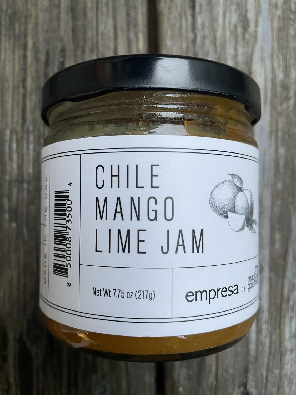 Empresa chile mango lime jam