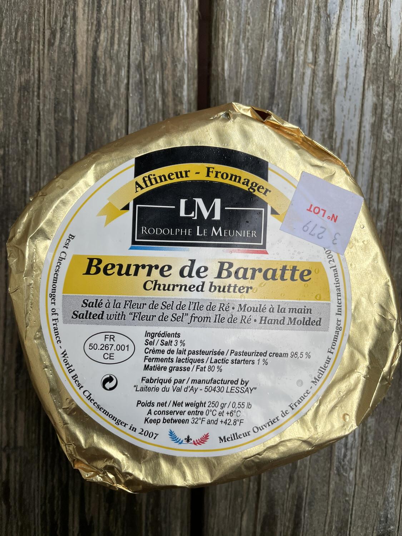 Beurre de baratte butter