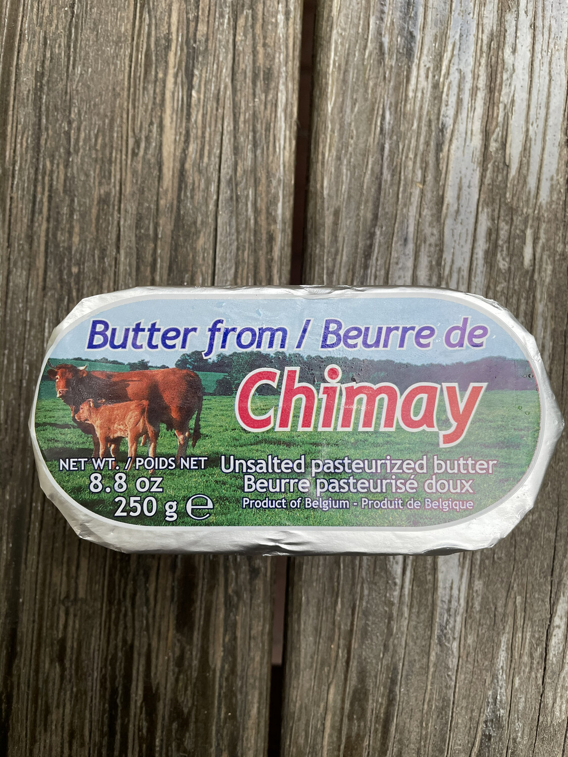 CHIMAY unsalted pasteurized butter