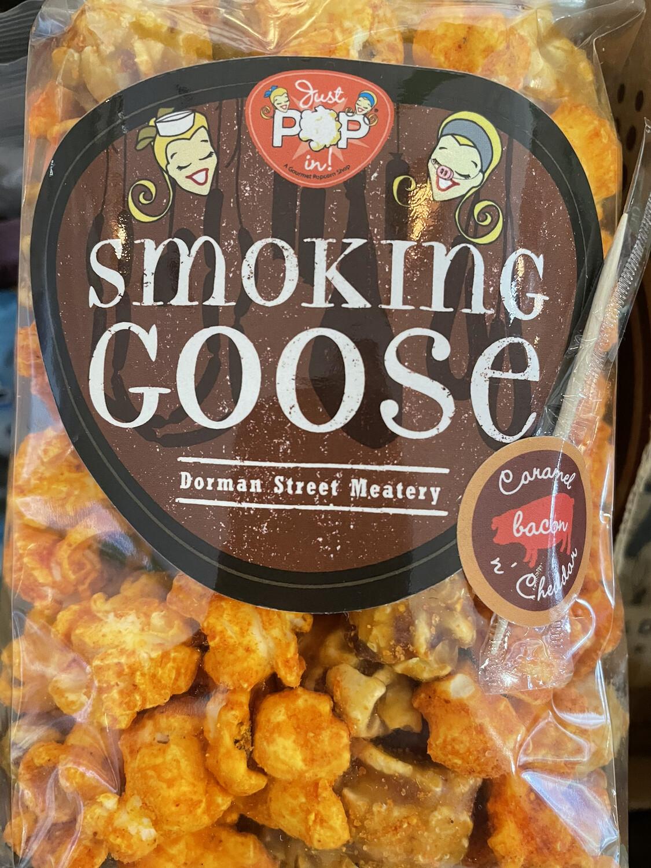 Smoking Goose Caramel Bacon Cheddar Popcorn