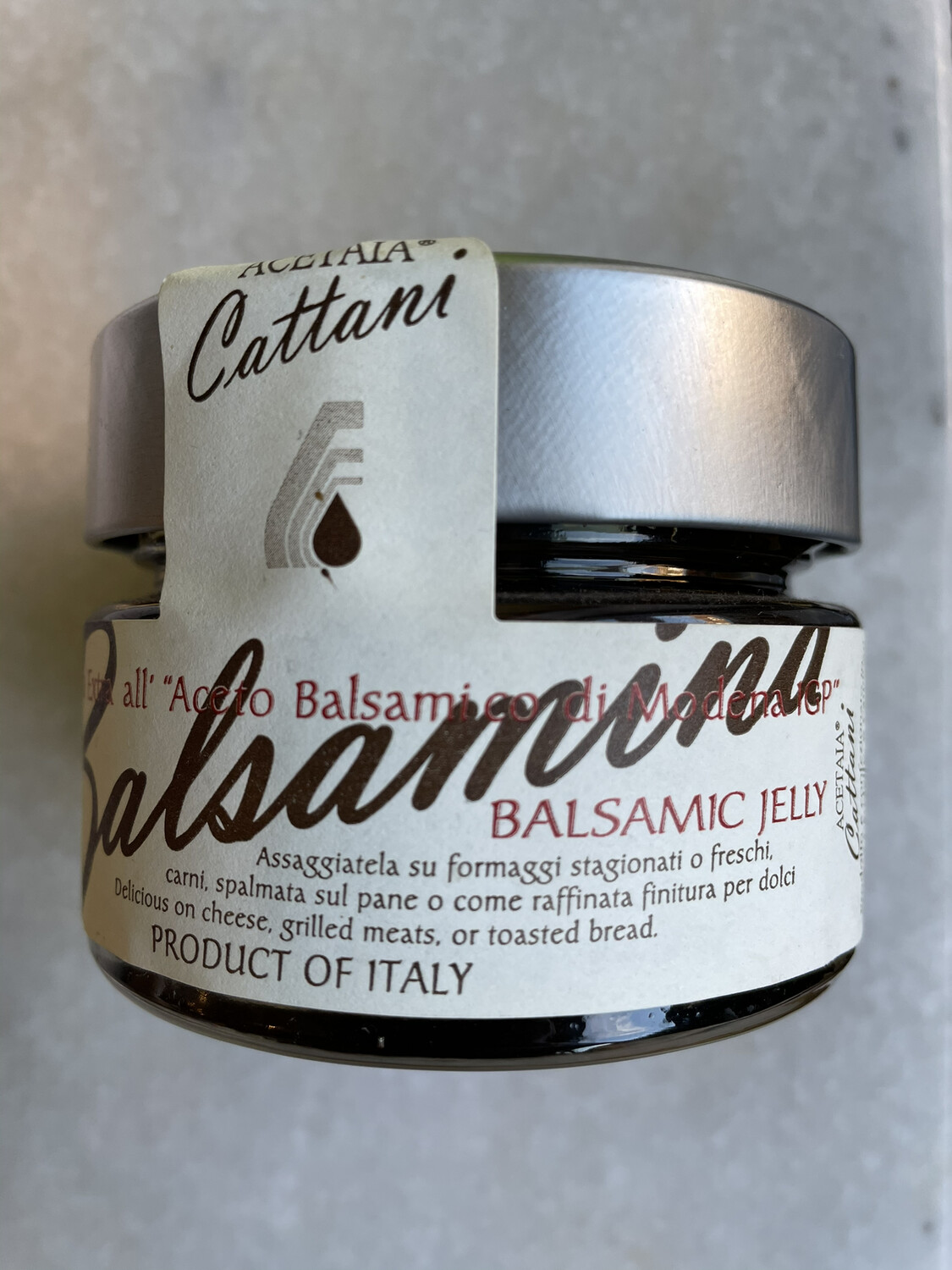 Cattani balsamic jelly