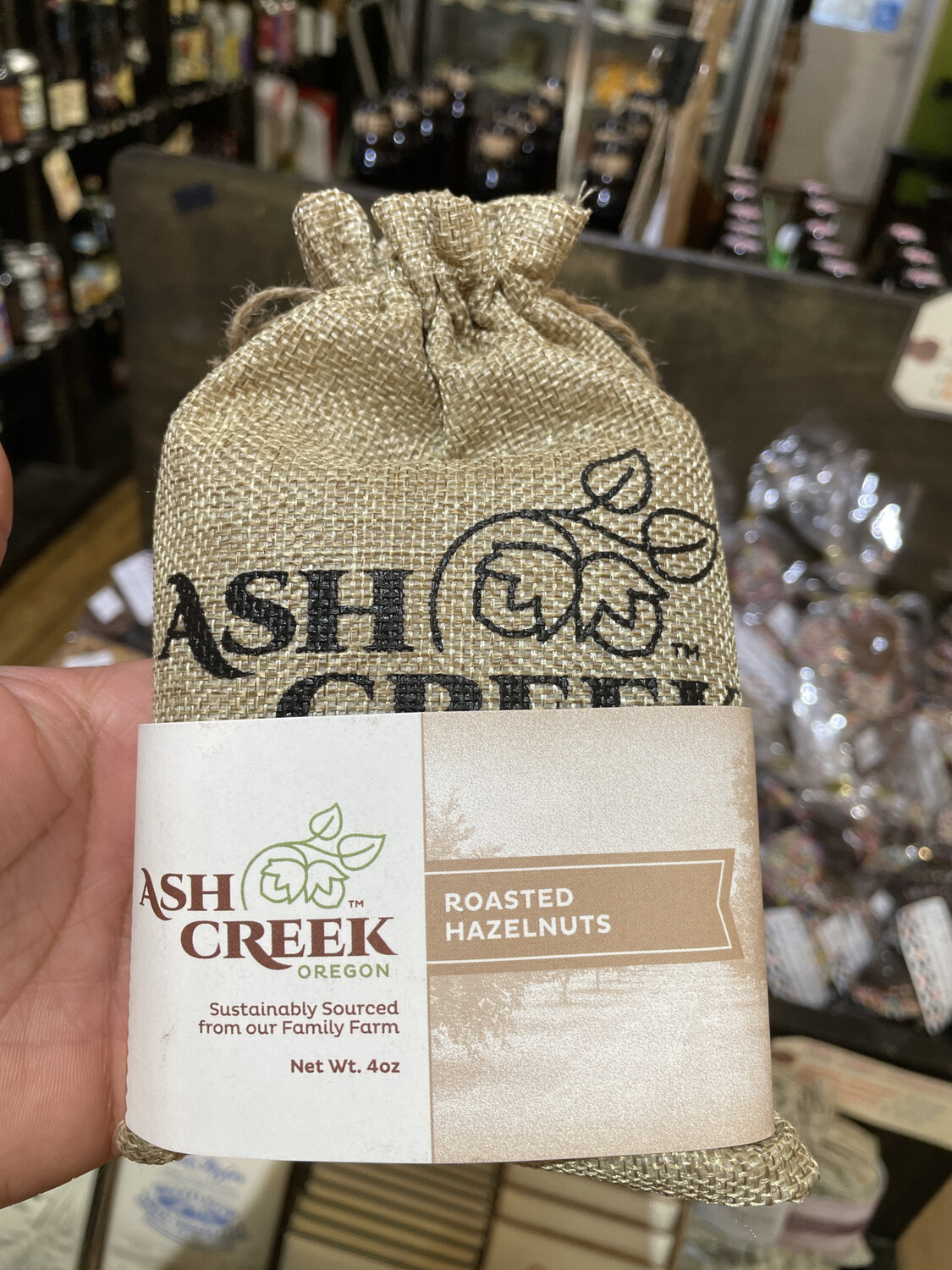 ASH CREEK roasted hazelnuts