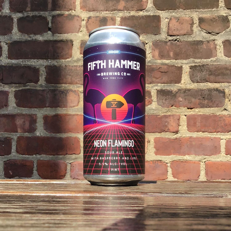 Fifth Hammer Neon Flamingo