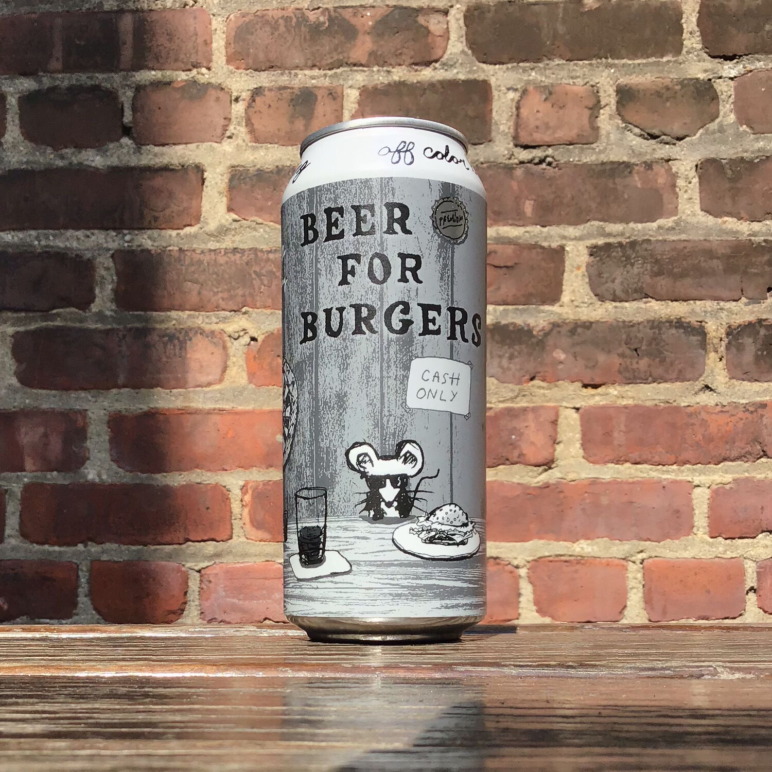 Off Color Beer For Burgers