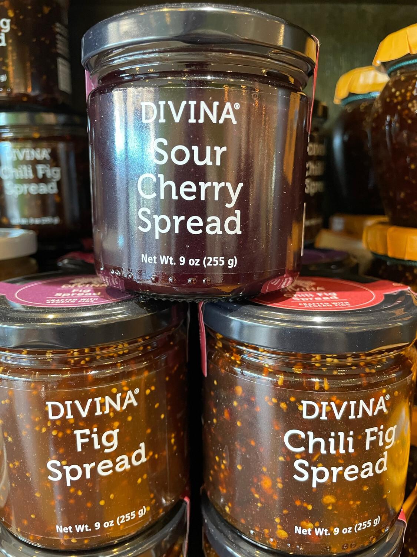 DIVINA sour cherry spread