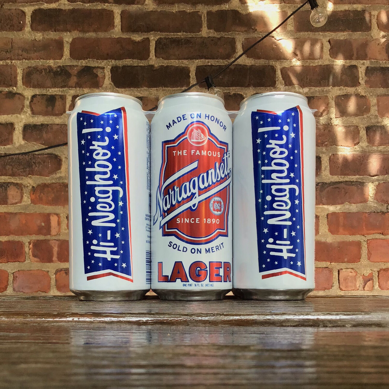 6-PACK Narragansett Lager