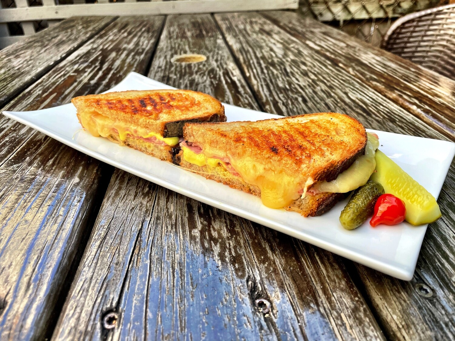 Coconut Curry Grilled Cheese