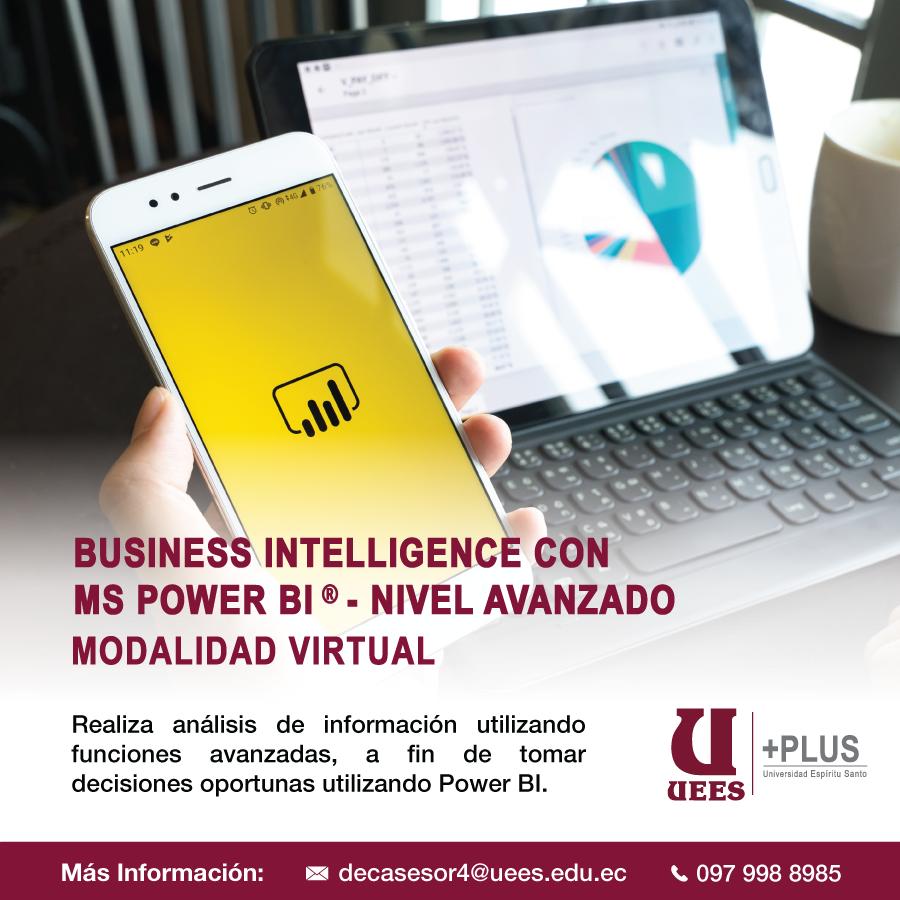 Business Intelligence con MS Power BI NIVEL AVANZADO