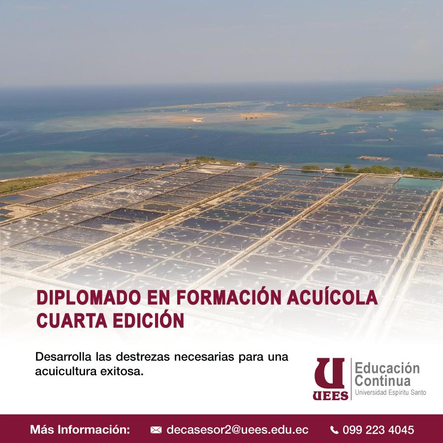 Diplomado en Formación Acuícola 4ta edición