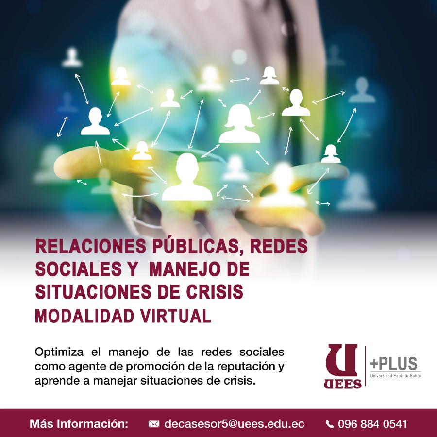 Relaciones Publicas, redes sociales y situaciones de crisis