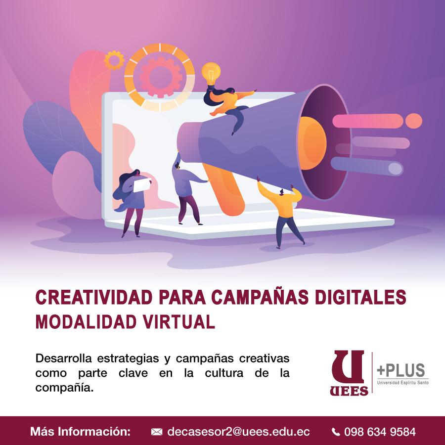 Creatividad para Campañas Digitales