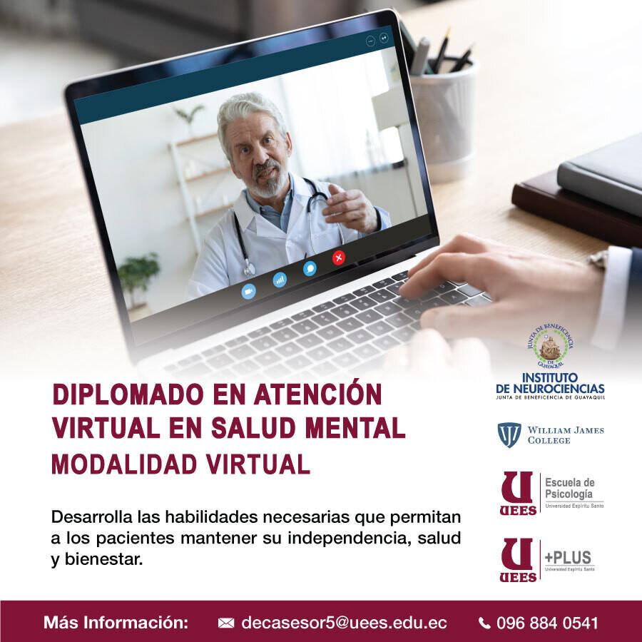 Diplomado en Atención Virtual en Salud Mental