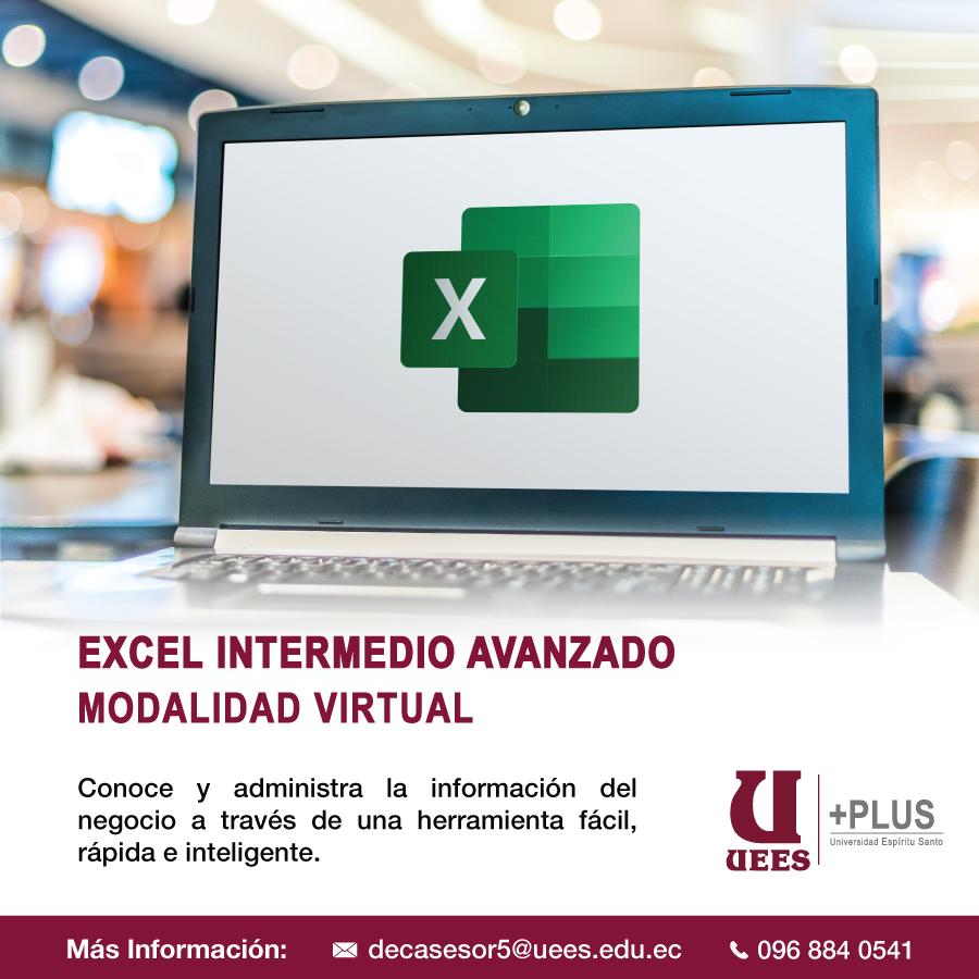 EXCEL INTERMEDIO - AVANZADO