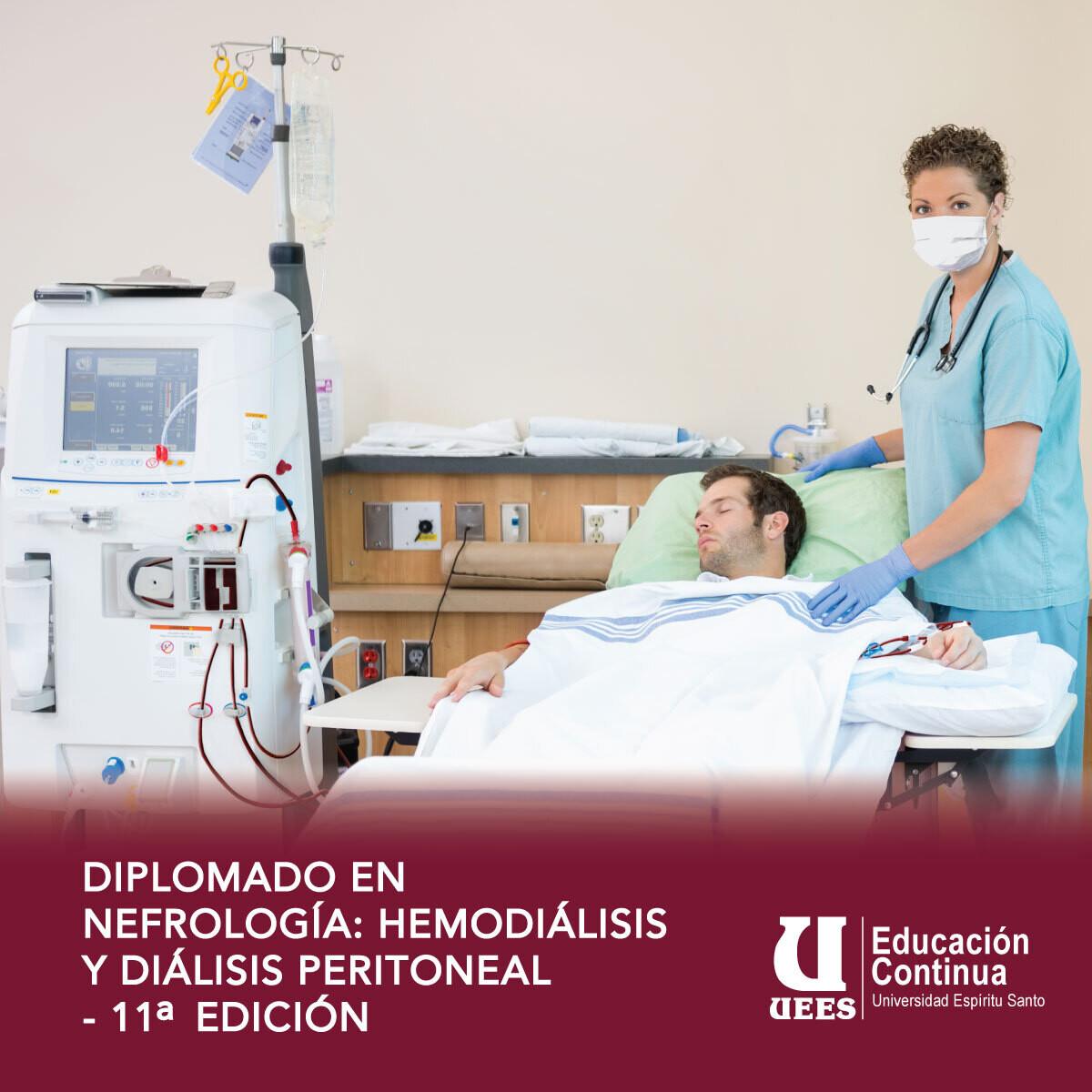 Diplomado Nefrología: Hemodiálisis y Diálisis Peritoneal