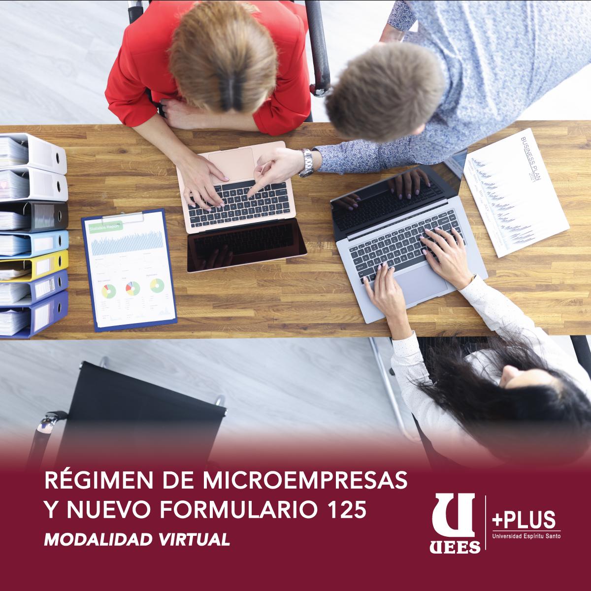 Régimen de Microempresas y Nuevo Formulario 125
