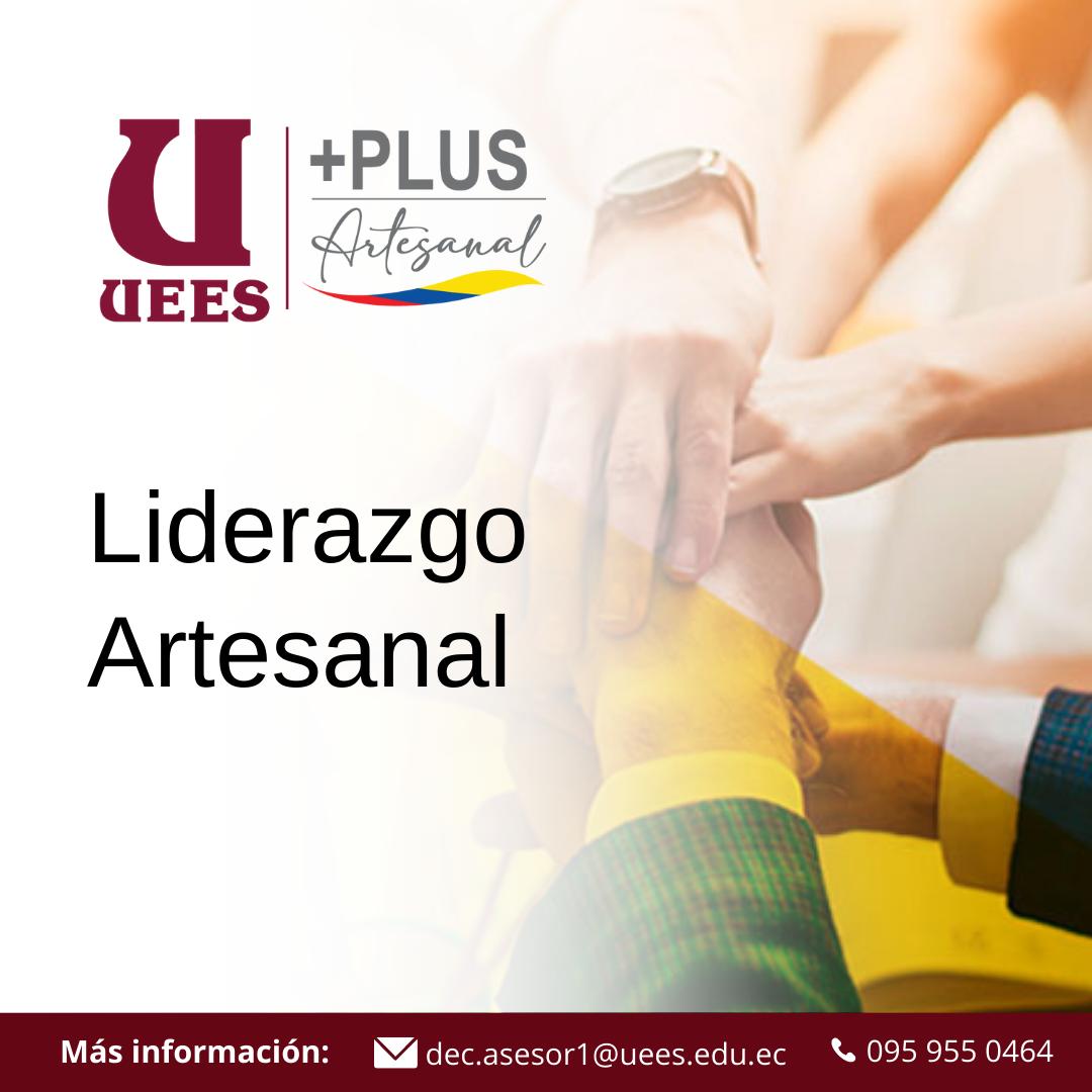 LIDERAZGO ARTESANAL