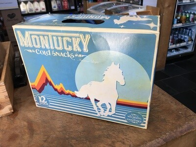 Beer / 12 Pack / Montucky Cold Snacks, 12 pk.