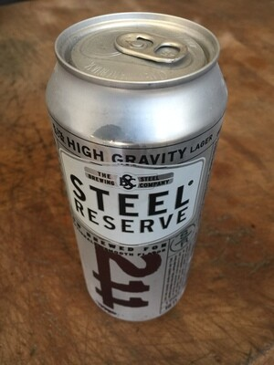 Beer / 16 oz  / Steel Reserve 16oz