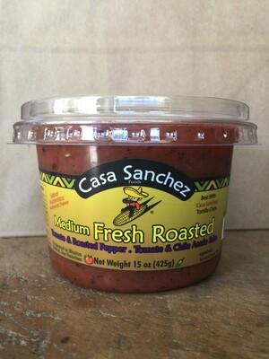 Deli / Salsa / Casa Sanchez Fresh Roasted Salsa
