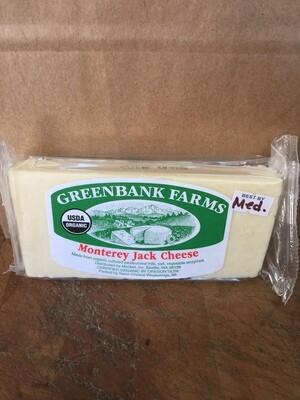 Deli / Cheese / Greenbank Organic Monterey Jack , Medium (about .55 lbs)