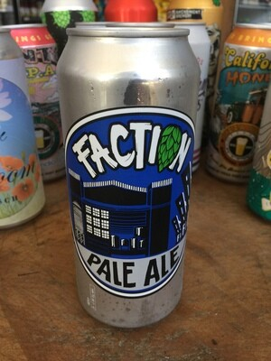 Beer / 16 oz / Faction, Faction Pale ale  16 oz