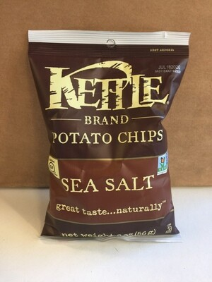 Chips / Small Bag / Kettle Chips Sea Salt 2 oz