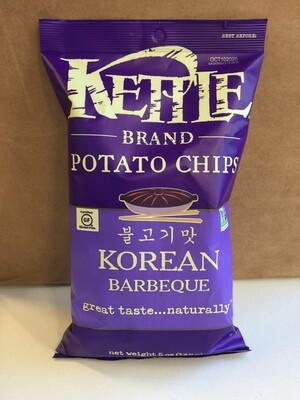 Chips / Big Bag / Kettle Chips Korean Barbecue, 5 oz.