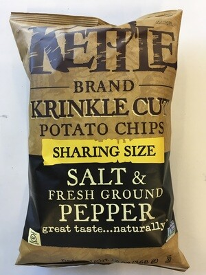 Chips / Big Bag / Kettle Krinkle Black Pepper, 13 oz