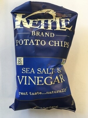 Chips / Big Bag / Kettle Chips Salt/Vinegar 5 oz