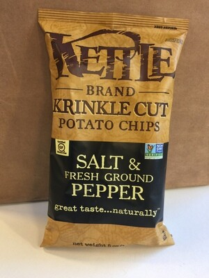 Chips / Big Bag / Kettle Salt/Pepper Krinkle 5 oz