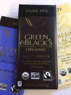 Candy / Chocolate  / Green and Black's Organic Dark Chocolate