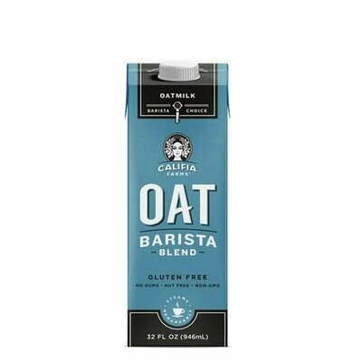 Dairy / Milk Substitute / Califia Barista Blend Oat Milk 32 oz
