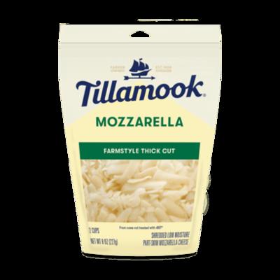 Deli / Cheese / Tillamook Mozzarella, Shredded 8 oz