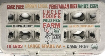 Dairy / Eggs / Uncle Eddie's Large Eggs, 18 pk
