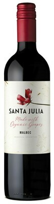 Wine / Red / Organic Santa Julia Malbec Bottle